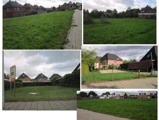 Diverse bouwkavels in de wijk Broek Zuid Hengelo