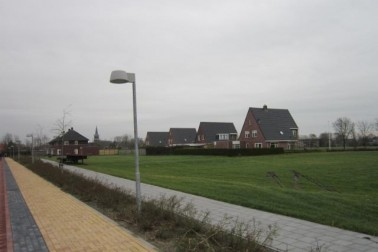 De Foarke 4 t/m 14 (even nummers) in de wijk De Boech Zuid  Menaldum