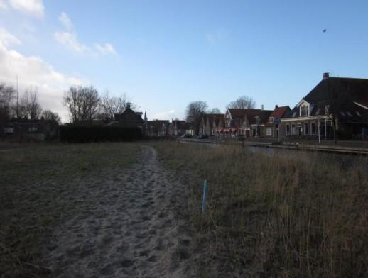 nabij de Lytse Side, de Meester C.J. Trompstraat en de Jachthavendyk Balk
