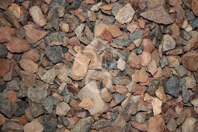 15 mijnsteen rood