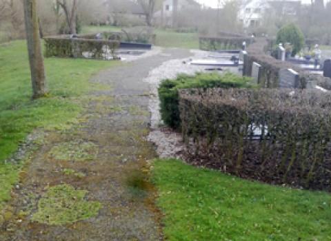 Uitbreiding begraafplaats Haaghove