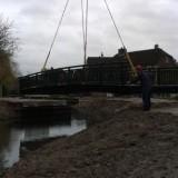 Snelfietsroute en de brug aan de Nettenknoper