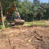 Opschonen poelen Gasselse bos