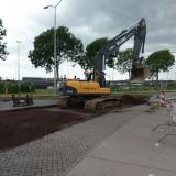 Reconstructie rotonde Schoenaker - Leigraaf Beuningen